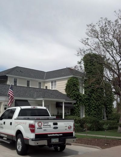 New Shingle Roof by Lyons Roofing